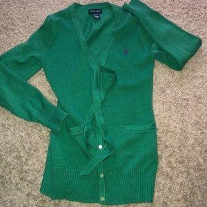 Ralph Lauren polo long sleeve sweater girls sz 12